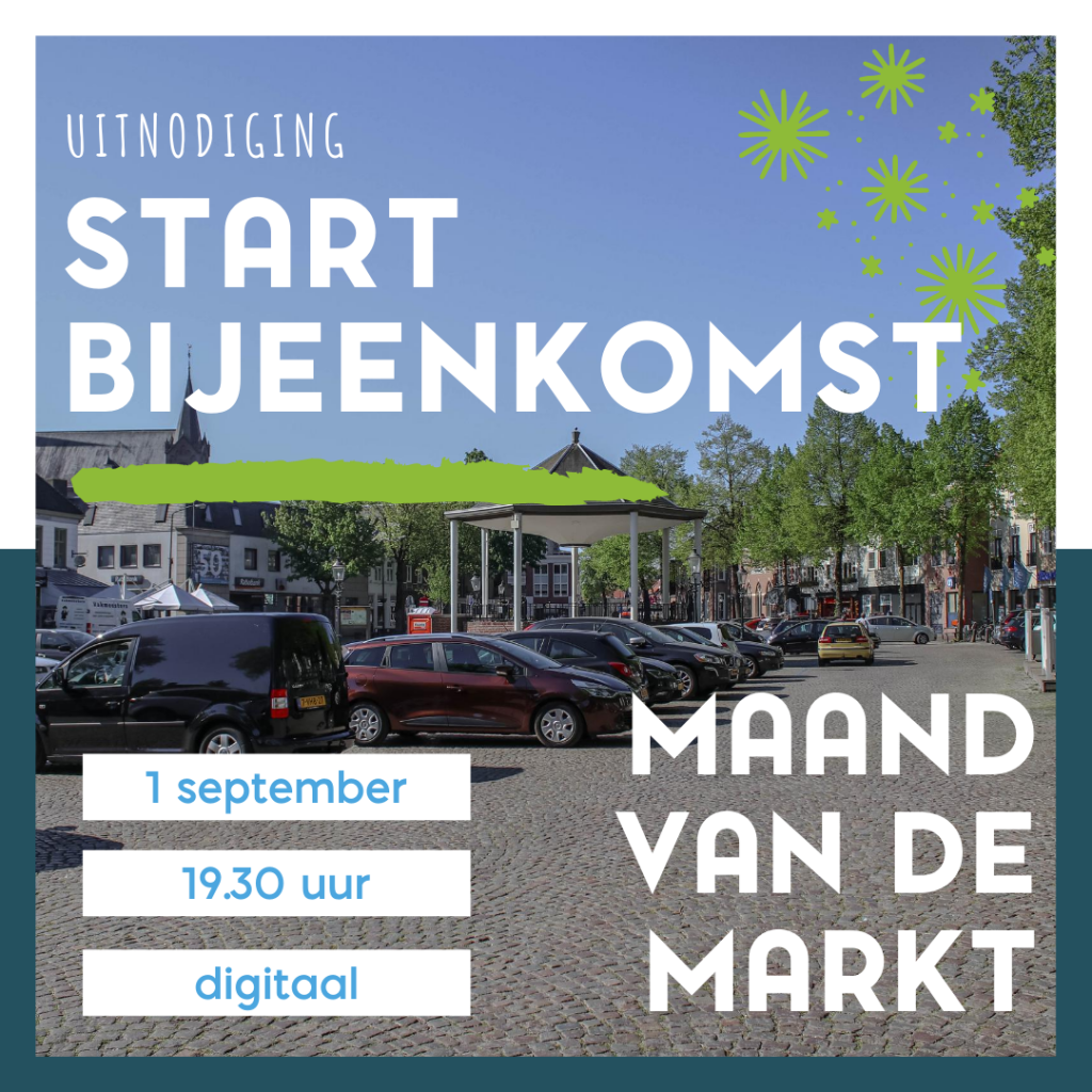 Visual uitnodiging startbijeenkomst 1 september