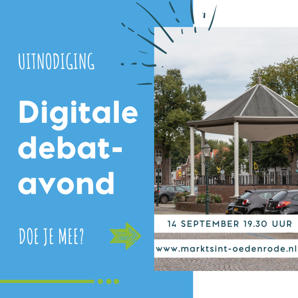 Visual digitale debatavond